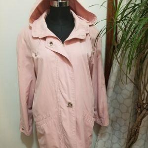 Pink LONDON FOG coat  Size L